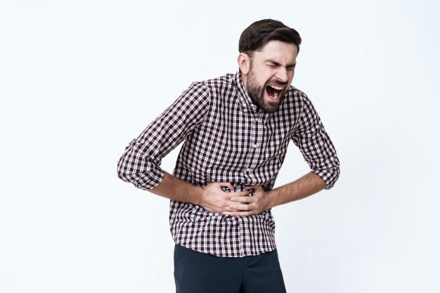 ألم البطن من أعراض التهاب الغشاء البريتوني