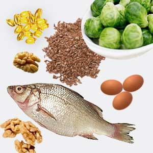 أغذية غنية بأوميجا - 3