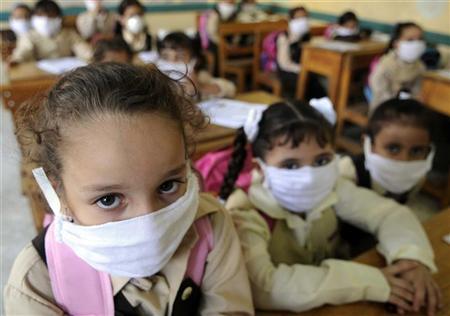 اصابات جديدة بانفلونزا الخنازير فى مصر