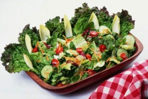 الخضروات لجاذبية أكثر