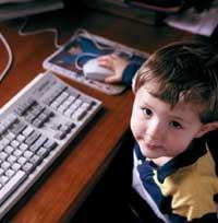 الكمبيوتر من أسباب العدائية عن الأطفال