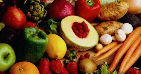 الفواكه والخضروات لسلامة الجهاز الهضمي