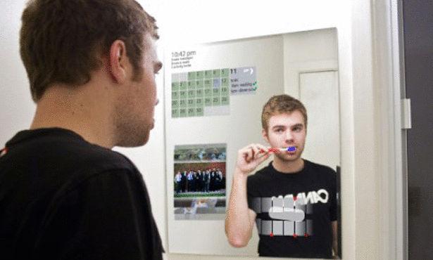 فرشاة أسنان ذكية تكشف التسوس