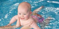 سباحة الأطفال متعة و صحة