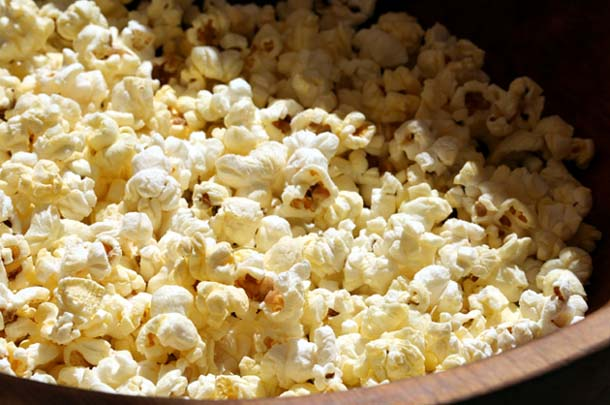 pop-corn الفشار