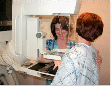 التعرض لأشعة Mammogram عند سن الأربعين