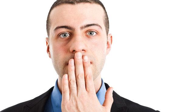 تحليل رائحة الفم
