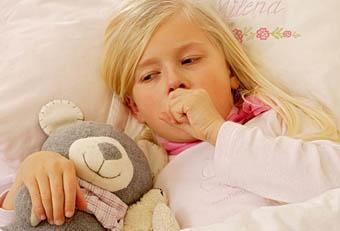 التهاب الشعب الهوائية الحاد في الاطفال