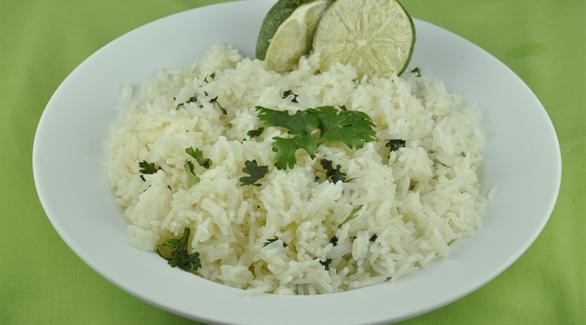 السعرات الحرارية في الأرز الأبيض