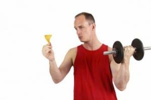 اطعمة قبل وبعد التمارين