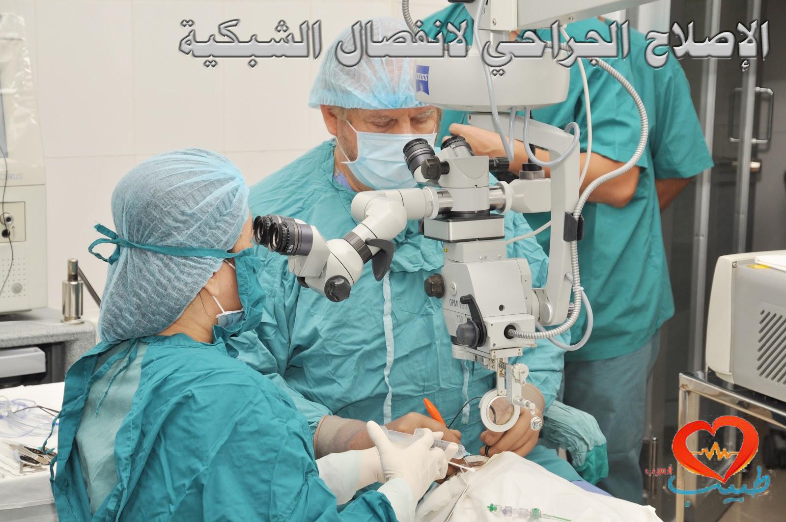 Photo of العلاج الجراحي لانفصال الشبكية Retinal Detachment Surgery