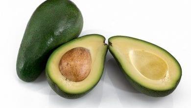 الألياف في فاكهة الأفوكادو