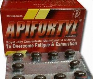 ابيفورتيل كبسولات Apifortyl capsules