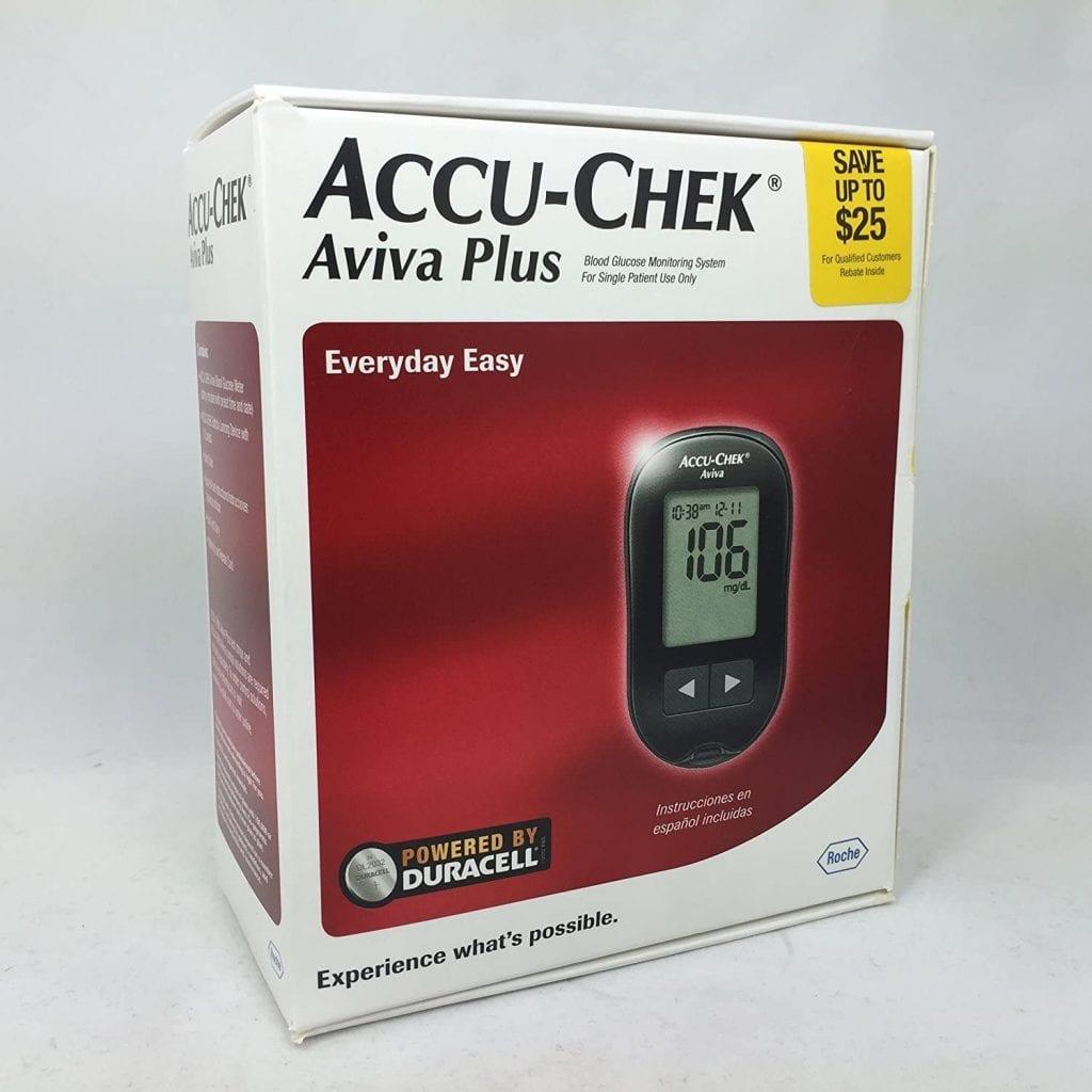 جهاز أكيو تشيك أفيفا بلاس، أفضل جهاز لقياس السكر 2020