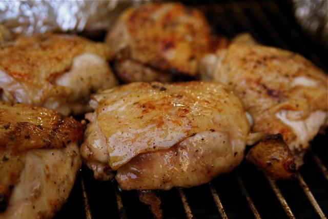 السعرات الحرارية في فخذ الدجاج