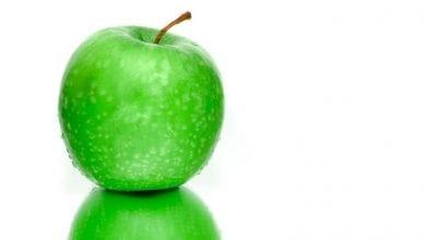 كم سعرة حرارية في التفاح الاخضر