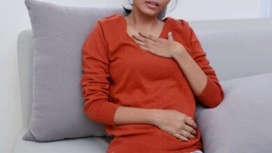 ضيق التنفس عند الحامل في الشهور الأولى